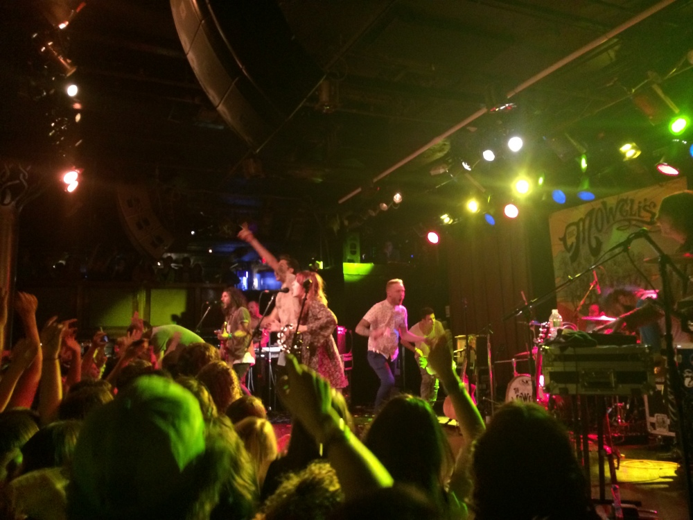 The Mowgli's bring good vibes to Paradise
